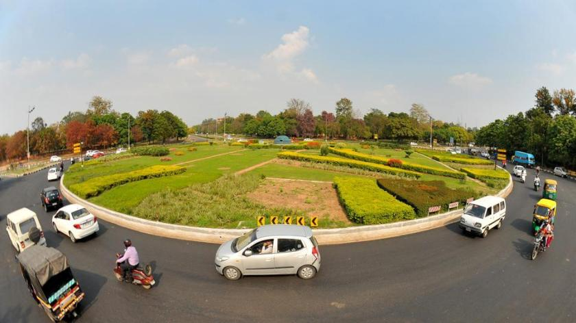 Awesome Chandigarh Road